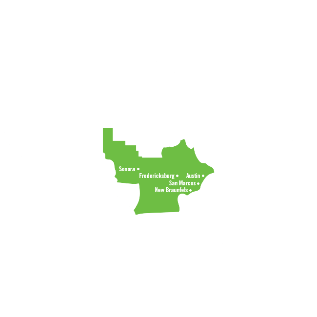 Map Of Texas Hill Country Cities.Hill Country Texas Regions