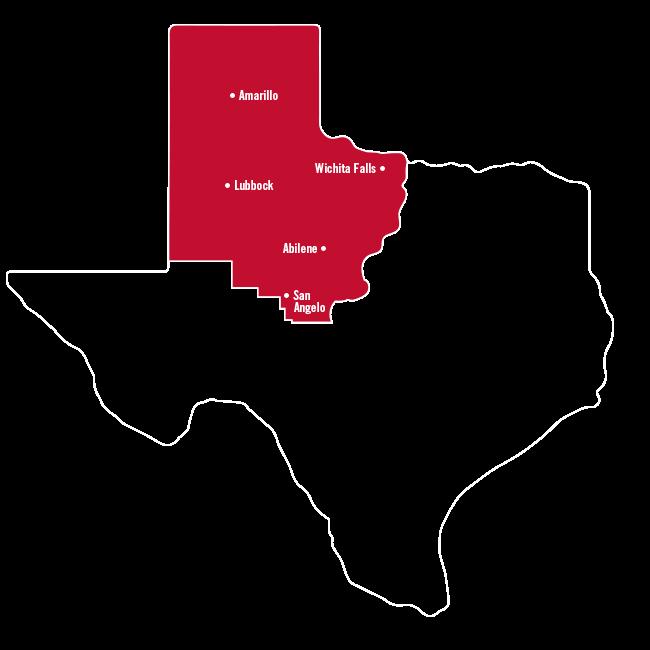 Amarillo, Abilene & Wichita Falls
